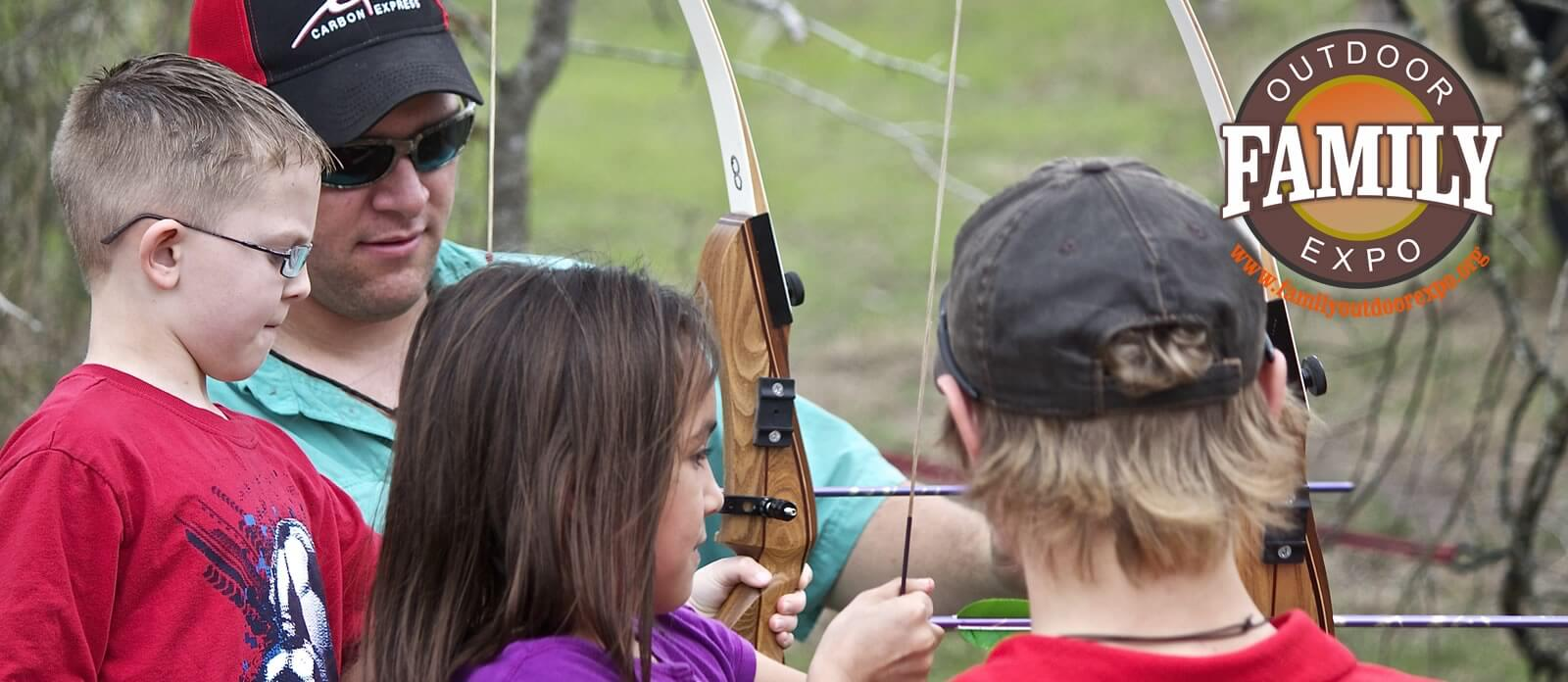 archer at the Family Outdoor Expo