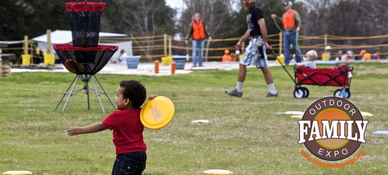 Disc Golf at the Family Outdoor Expo