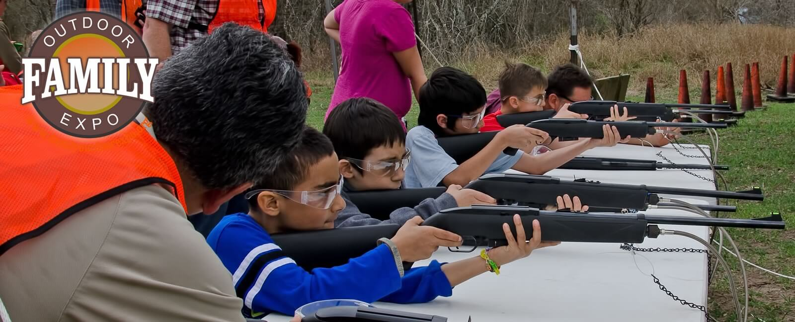 Pellet Shooting at the Family Outdoor Expo