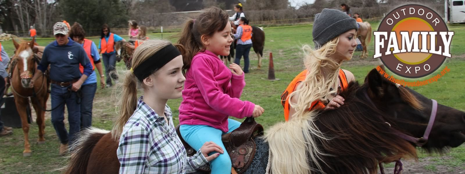 Pony at the Family Outdoor Expo