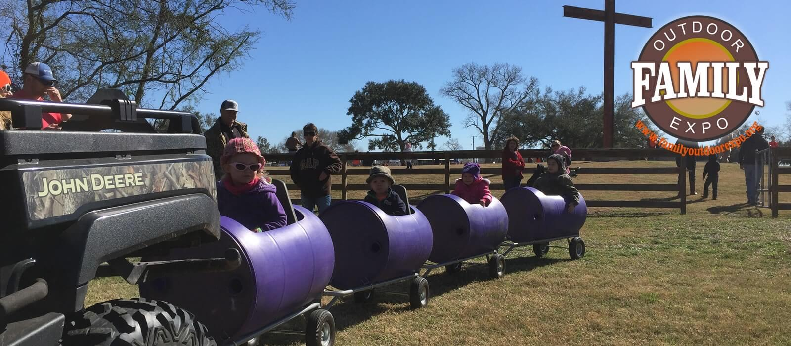Train Rides at the Family Outdoor Expo