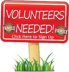 volunteer signup for Family Outdoor Expo